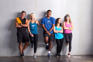 Full Pedal Reno Indoor Cycling instructors standing together
